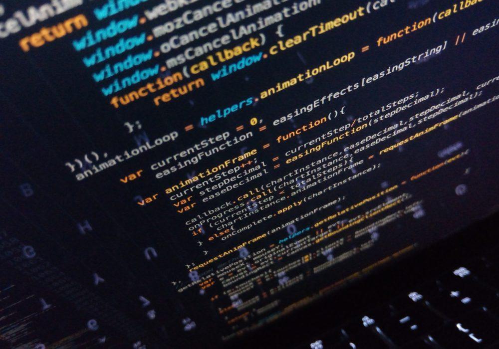 JavaScript Code on screen